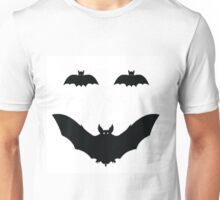 Bat Smiley Unisex T-Shirt