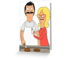 Bob and Linda Greeting Card