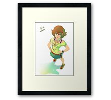 Voltron - Pidge Framed Print