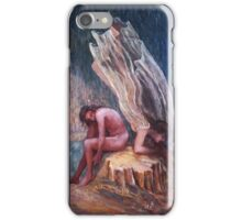 Oil painting iPhone Case/Skin