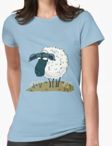 An Indifferent Sheep Womens Fitted T-Shirt