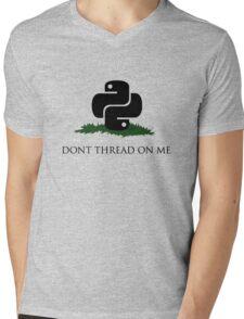 Python Snek - Don't Thread On Me Mens V-Neck T-Shirt