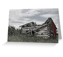 Decrepit Shack Greeting Card
