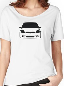 JDM sticker & Tee-shirt - Car Eyes Yaris TS Women's Relaxed Fit T-Shirt