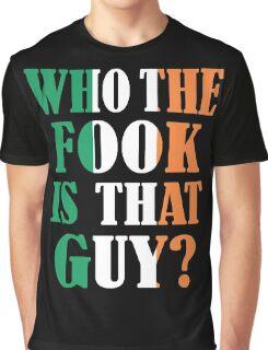 who irish Graphic T-Shirt