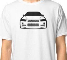 JDM sticker & Tee-shirt - Car Eyes GTR R34 Classic T-Shirt