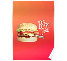Burger joint - vertical version Poster