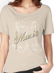 music art Women's Relaxed Fit T-Shirt
