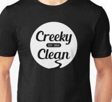 Creeky Clean (white version) Unisex T-Shirt