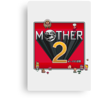 Alternative Mother 2 / Earthbound Title Screen Canvas Print