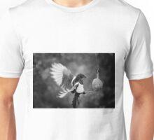 Magpie Feeding Unisex T-Shirt