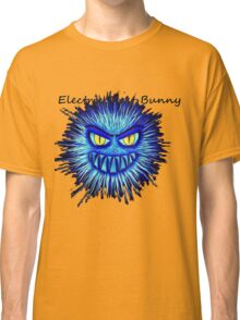 Electric Dust Bunny Black and Blue Classic T-Shirt