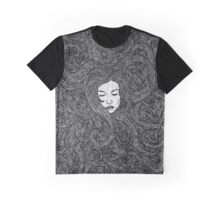 Girl's Hair Graphic T-Shirt