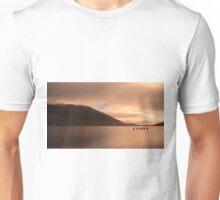 Loch Lomond golden Sunset Unisex T-Shirt