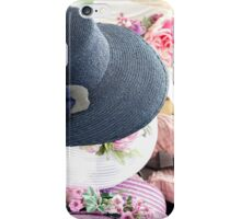 handmade hats iPhone Case/Skin