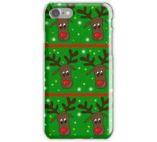 Reindeer pattern iPhone Case/Skin