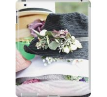 handmade hats iPad Case/Skin