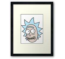 Rick Smile Framed Print