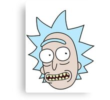 Rick Smile Canvas Print