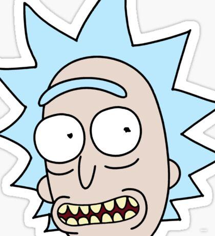 Rick Smile Sticker