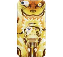 The Nine Tails Jinchuuriki iPhone Case/Skin