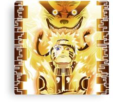 The Nine Tails Jinchuuriki Canvas Print