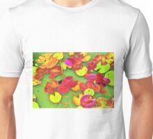 Lily Pad Faces Unisex T-Shirt