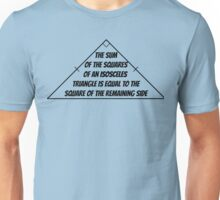Hypotenuse Unisex T-Shirt