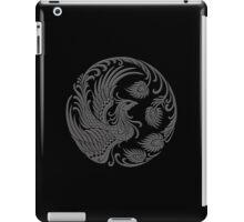 Traditional Dark Chinese Phoenix Circle iPad Case/Skin