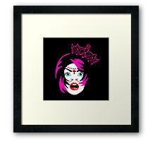 GYPSY QUEEN VAMPIRE Framed Print