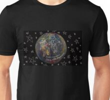 Sleepy thoughts seeing us as astronauts Unisex T-Shirt
