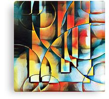 Underwater Abstract Canvas Print