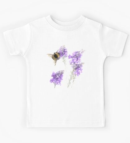 Watercolor Bumble Bee  Kids Tee