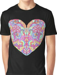 abstract colorful heart  Graphic T-Shirt