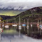 Tighnabruaich sailing club by Geoff Carpenter