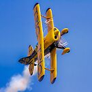 Pitts S-1D Special G-IIIP on the knife edge by Colin Smedley