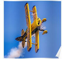 Pitts S-1D Special G-IIIP on the knife edge Poster