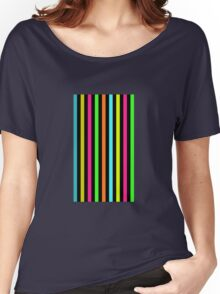 colorful stripes Women's Relaxed Fit T-Shirt