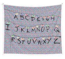 Stranger Things Alphabet Wall Tapestry