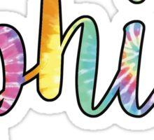 OPhiA Tie Dye Sticker