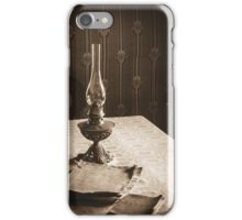 Reading the Past iPhone Case/Skin