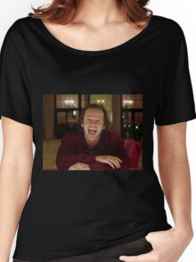 Jack Nicholson The Shining Still - Stanley Kubrick Movie Women's Relaxed Fit T-Shirt