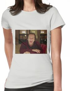 Jack Nicholson The Shining Still - Stanley Kubrick Movie Womens Fitted T-Shirt