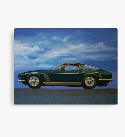 Iso Grifo GL Painting Canvas Print