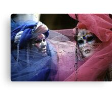 blue and red II Canvas Print