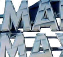 Mad Max film title Sticker