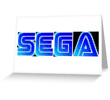 Sega Logo Greeting Card