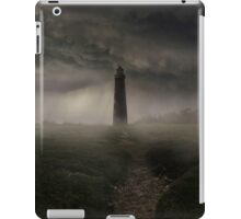 Lighthouse in the rain iPad Case/Skin