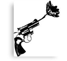 Less bullets Canvas Print