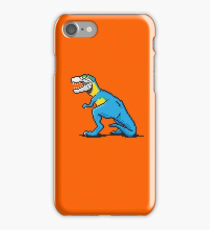 Pixevolution - Tyrannosaurus Macaw  iPhone Case/Skin